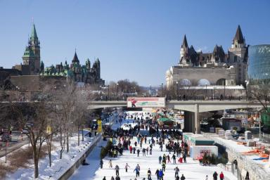 ottawa  in the winter