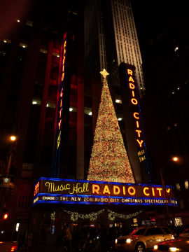 Radio city hall xmas 2011