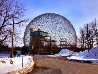 """Montreal Biosphere"" by Alex Faris. (1967-R. Buckminster Fuller)"