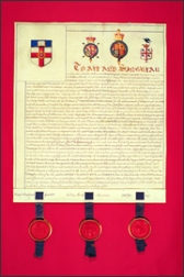 Grant of Arms 1838