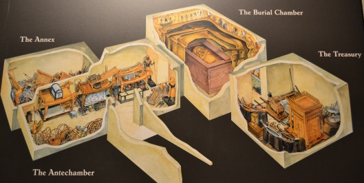 king-tut-seattle-exhibit-tomb-map