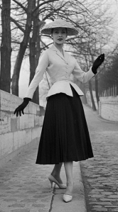 February 12 1947 French Fashion Designer Christian Dior Presents His First Influential Collection Named The New Look The Street And The City