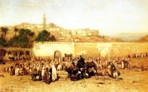 Tangier market day