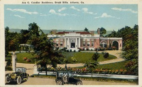 Candler Mansion (built 1916) at 1500 Ponce de Leon Avenue in Druid Hills