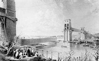 britannia bridge 1850