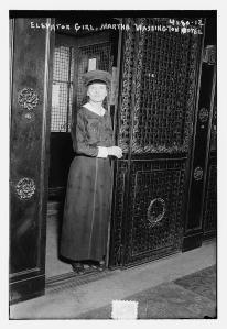 Elevator_girl,_Martha_Washington_Hotel_in_1917