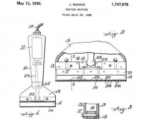March 18, 1931 etc.: The first viable electric dry shaver