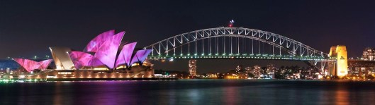 Sydney Panorama with Harbour Bridge