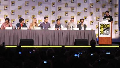 The Big Bang Theory Panel at Comic-Con in 2011