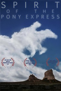 Spirit of the Pony Express poster